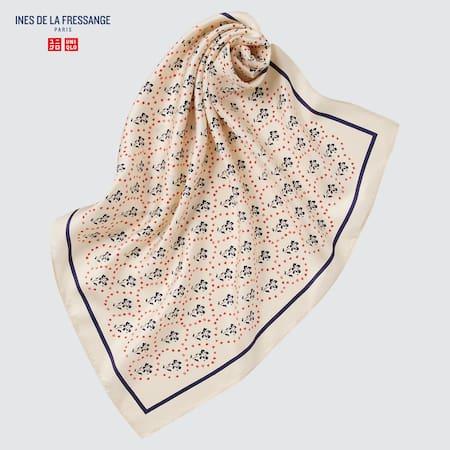 Sciarpa Ines de la Fressange Seta Con Stampa