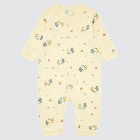Baby Joy of Print Gerippter langärmliger Strampler