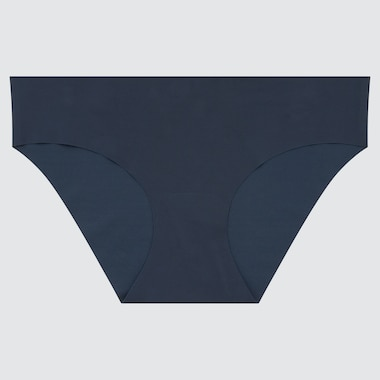 Women Airism Ultra Seamless Bikini, Dark Green, Medium