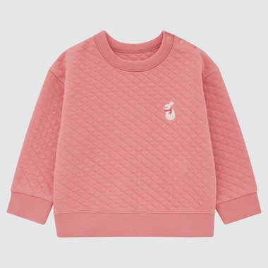 TODDLER QUILTED LONG-SLEEVE PULLOVER