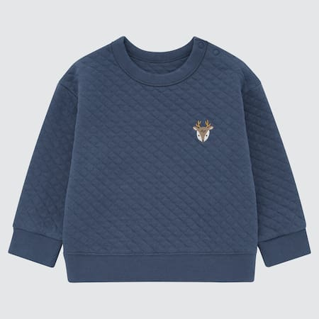 Baby Gesteppter Pullover