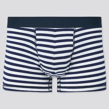 Herren Gestreifte Unterhose aus SUPIMA BAUMWOLLE mit niedrigem Bund