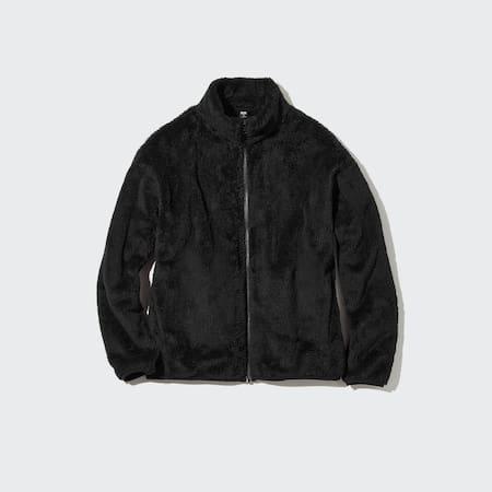 Women Fluffy Fleece Zipped Jacket