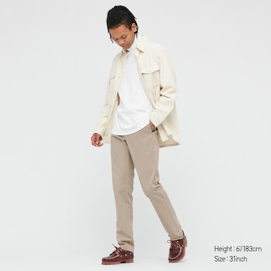 MEN SLIM-FIT CHINO PANTS