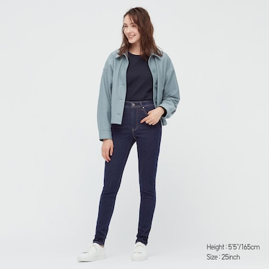 WOMEN ULTRA STRETCH SKINNY HIGH-RISE JEANS