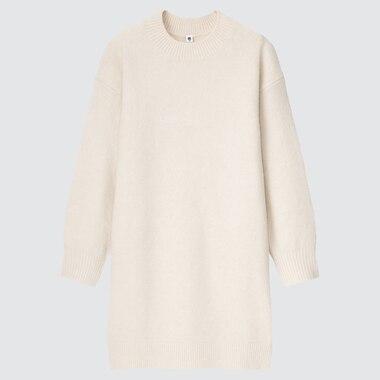 GIRLS SOUFFLE YARN LONG-SLEEVE DRESS