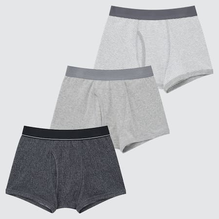 Kids Striped Boxer Briefs (Three Pack)