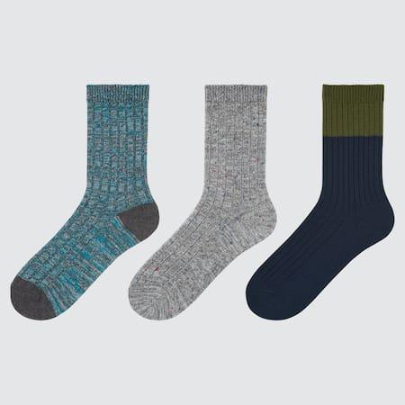 Kinder Socken (3 Paar, Colourblock)