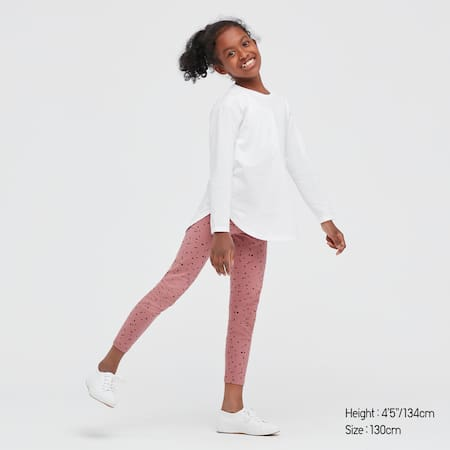 Kids Dotted Print Leggings