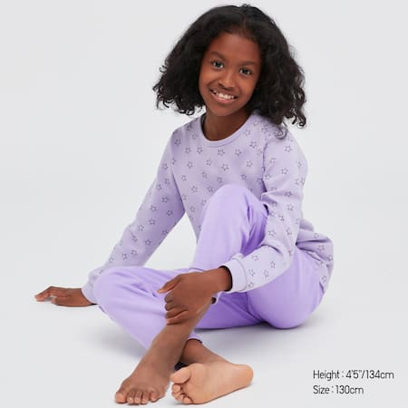 Girls AIRism Ultra Stretch Long Sleeved Set
