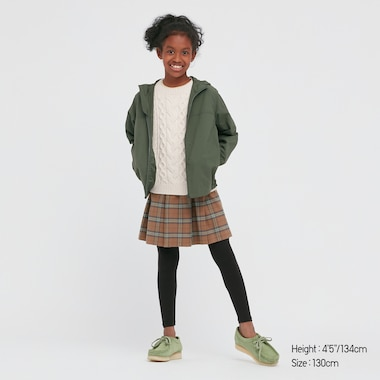 KIDS HEATTECH EXTRA WARM COTTON LEGGINGS