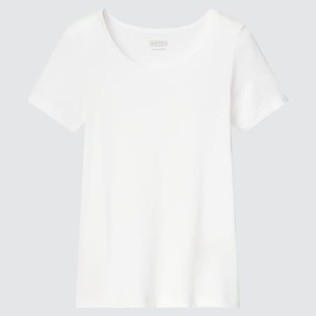 Kids HEATTECH Scoop Neck Short Sleeved T-Shirt