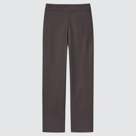 Pantalón Recto Felpa Mujer