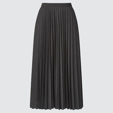 Women Accordion Pleated Skirt