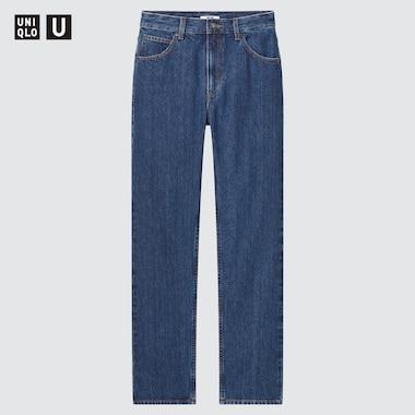 WOMEN U REGULAR-FIT STRAIGHT HIGH-RISE JEANS