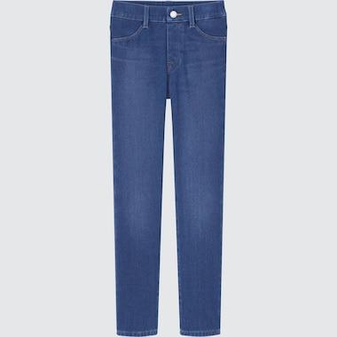 KIDS ULTRA STRETCH DENIM LEGGINGS PANTS