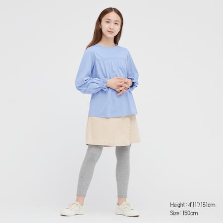 Kids Frill Long Sleeved Top