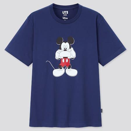 Herren Mickey Photo Days UT Bedrucktes T-Shirt