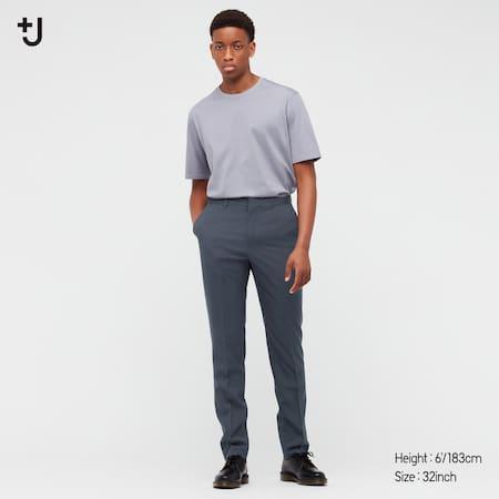 Herren +J Hose aus 100% Wolle (Slim Fit)