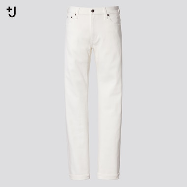 Herren +J Selvedge Straight Jeans (Slim Fit)