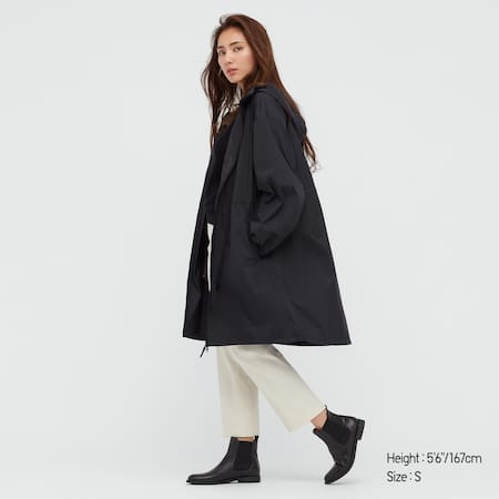 Women Pocketable Coat