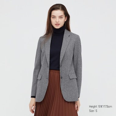 WOMEN RELAXED TAILORED JACKET