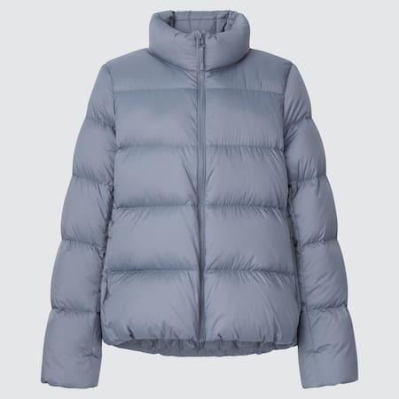 Damen Oversize Ultra Light Down Jacke