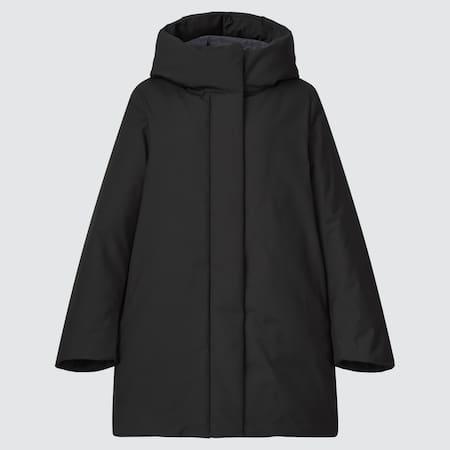 Women Hybrid Down Short Coat