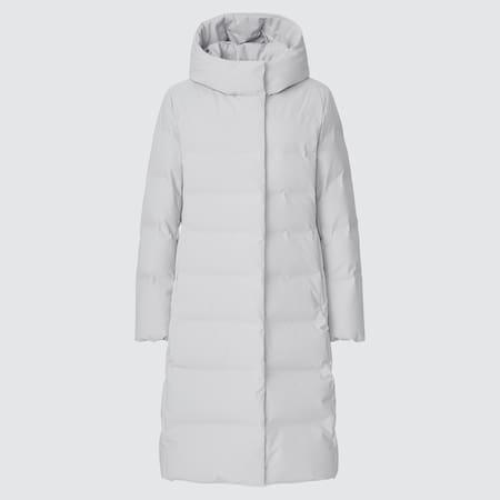 Women Seamless Down Long Coat