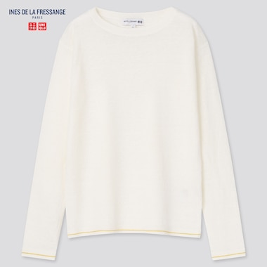 WOMEN Ines Linen Boat Neck Jumper