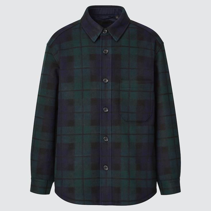 Over Shirt Jacket, Dark Green, Large