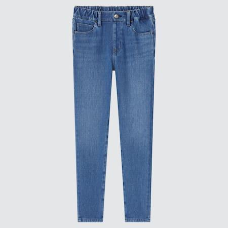 Kids HEATTECH Ultra Stretch Denim Pull-On Trousers
