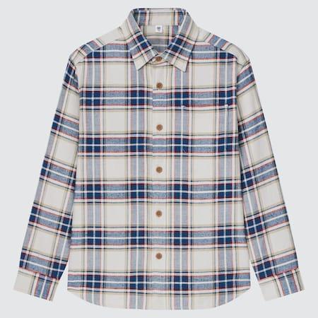 Kinder Kariertes Flanellhemd