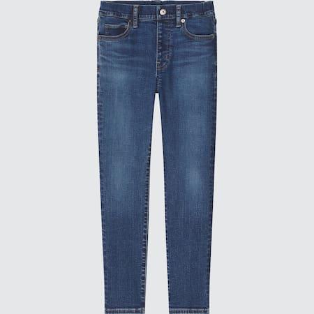 Kids Ultra Stretch Denim Slim Fit Pull-On Trousers