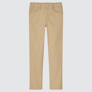 Kids Ultra Stretch Pull-On Slim-Fit Pants (Online Exclusive), Beige, Medium