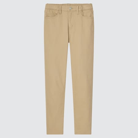 Kids Ultra Stretch Slim Fit Zip Fly Trousers
