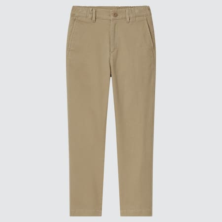 Kids Ultra Stretch Regular Fit Zip Fly Chino Trousers