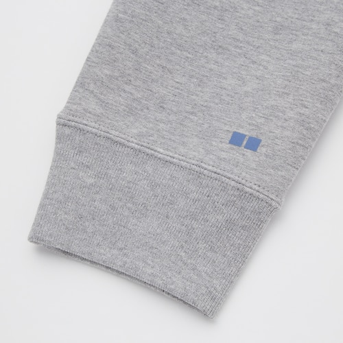 Ribbed cuffs, accented with our logo