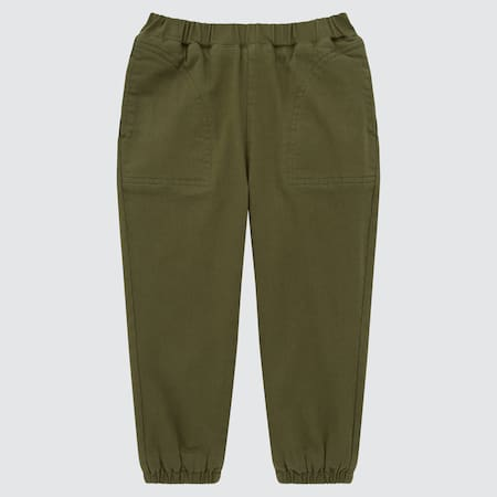 Babies Toddler Twill Warm Lined Trousers