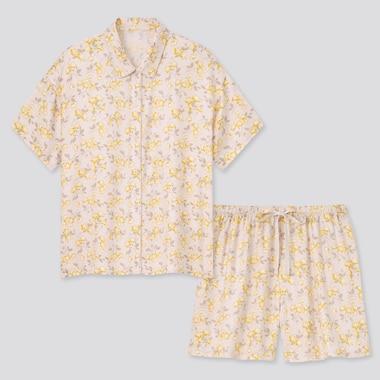 Pyjama Short Joy of Print en Satin Femme