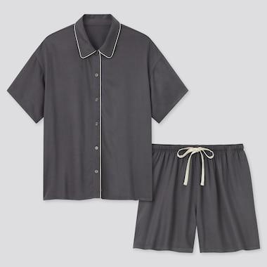 Pyjama Short en Satin Femme