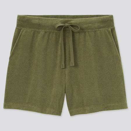 Women AIRism Terry Towelling Shorts
