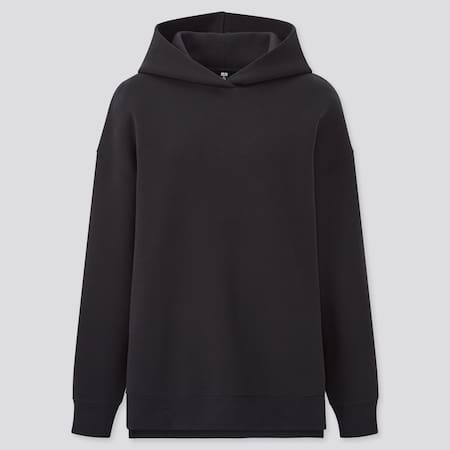 Women Double Faced Stretch Sweat Hoodie