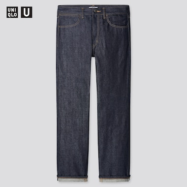 Herren UNIQLO U Selvedge Jeans (Regular Fit)