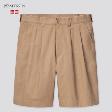 Men JW Anderson Pleated Chino Shorts