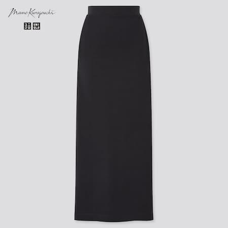 Women Mame Kurogouchi AIRism Cotton Slit Skirt