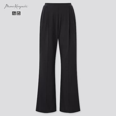 Mame Kurogouchi AIRism Pantalón Algodón Mujer