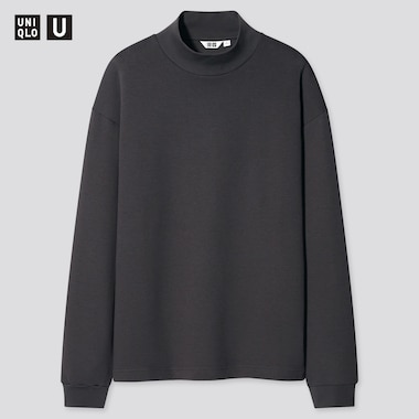 T-Shirt Uniqlo U Collo A Lupetto