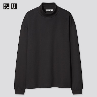 Uniqlo U Mock Neck Long Sleeved Pullover