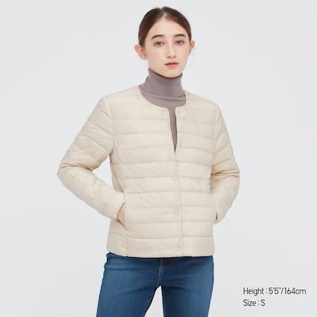 Damen Kompakte Ultra Light Down Jacke